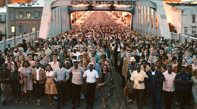 The Selma bridge that was filmed (CGI) to look like the orig