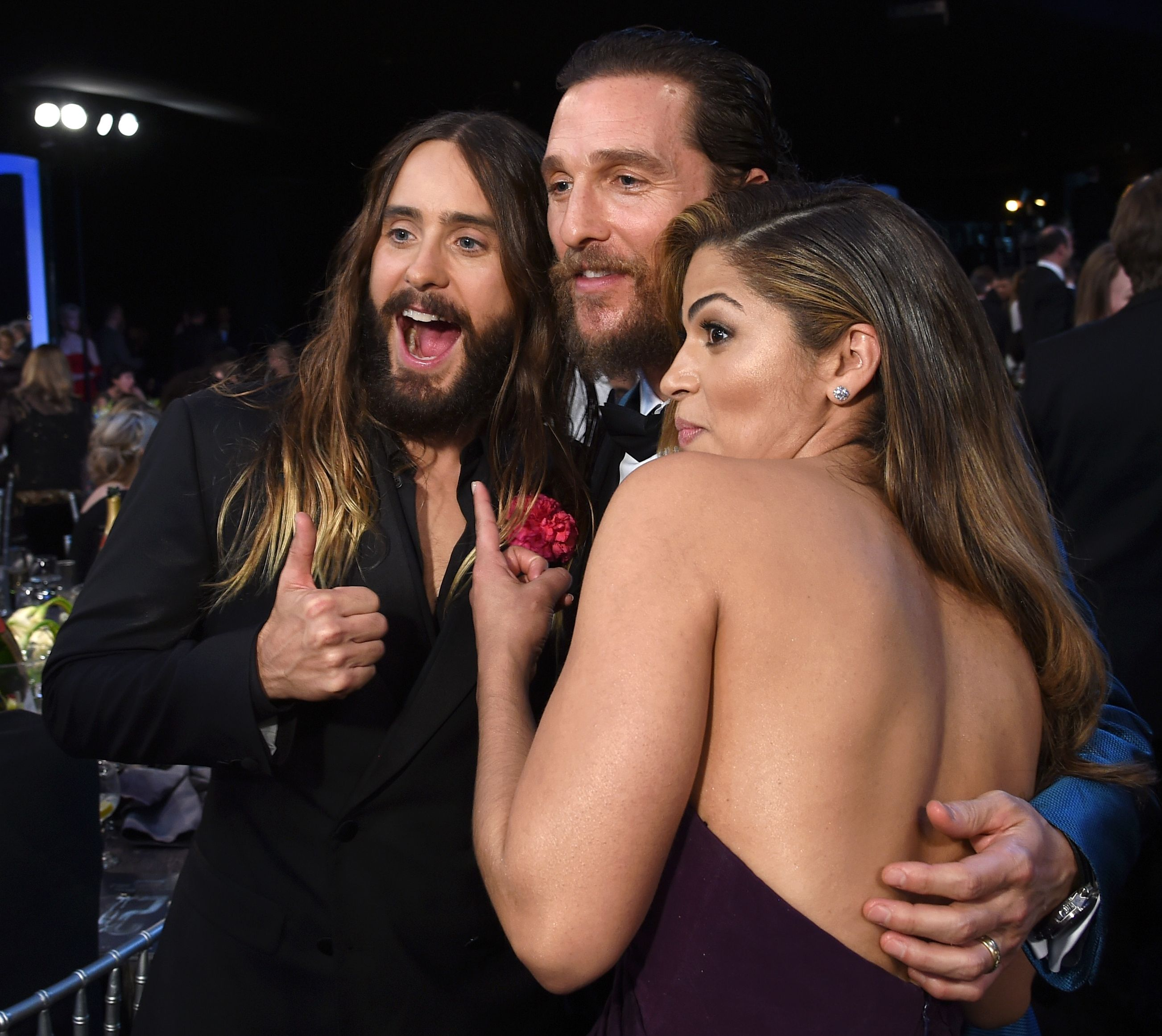 Jared Leto with Matthe...