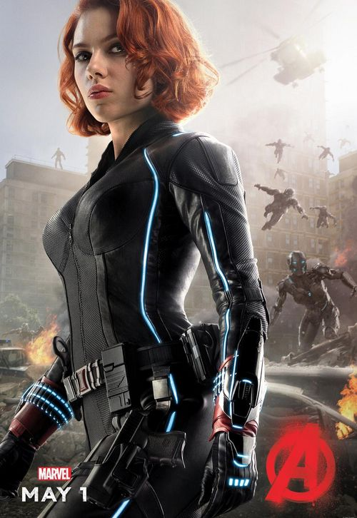 Black Widow Avengers: Age of Ultron Character Poster