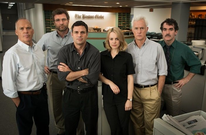 First Look: Michael Keaton, Mark Ruffalo and Rachel McAdams in 'Spotlight'