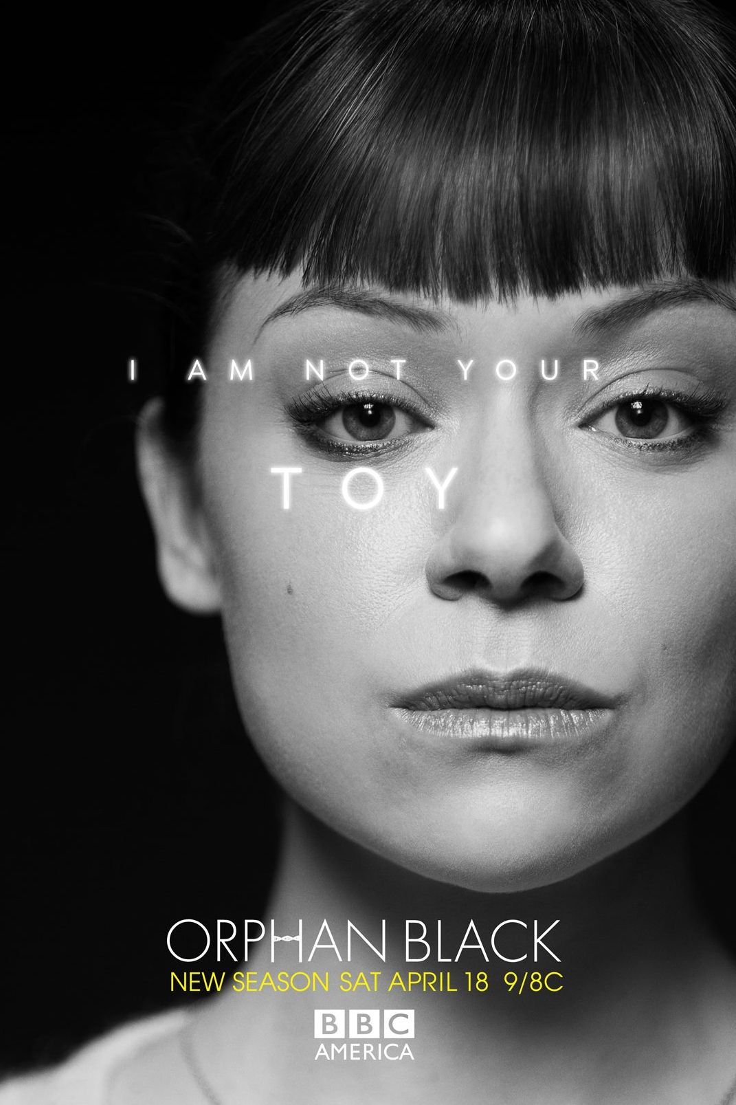 Orphan Black Poster I'm Not Your Toy - Ali...