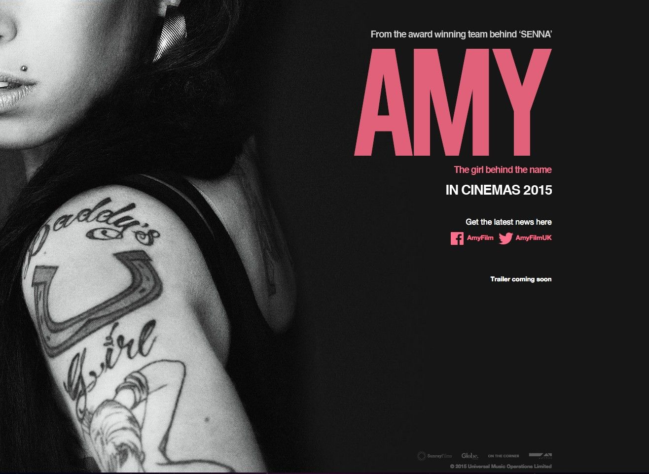 Official Poster for Am... Amy Winehouse Documentary