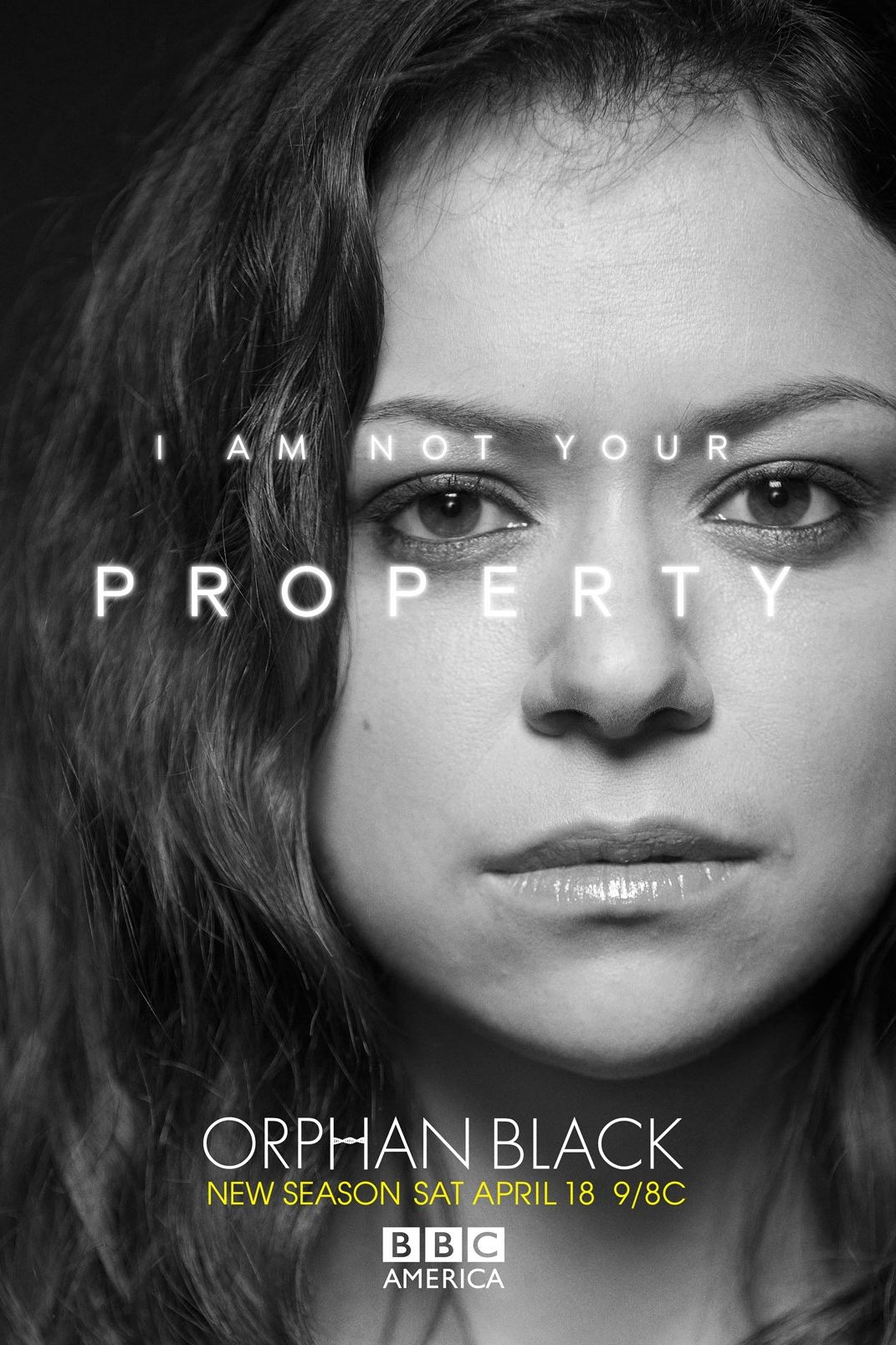 I'm Not Your Property - Sarah Manning in Orphan Black Season