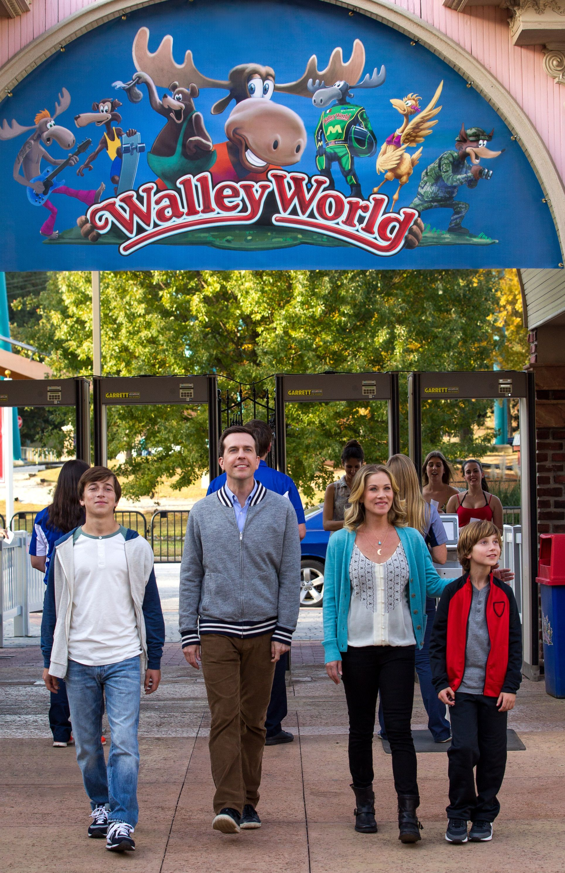 The Griswold's Arrive at Walley World