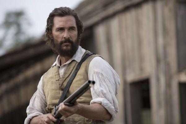 Matthew McConaughey with Gun in Hand