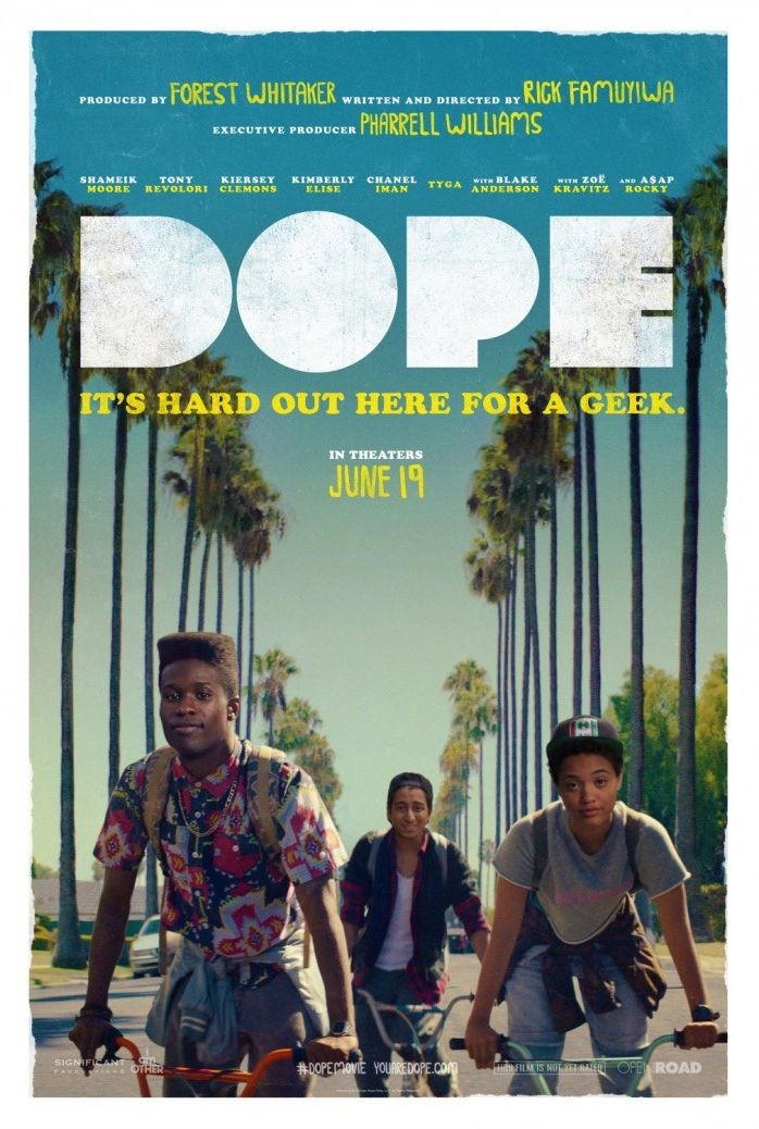 It's Hard Out Here For A Geek in 'Dope' Poster