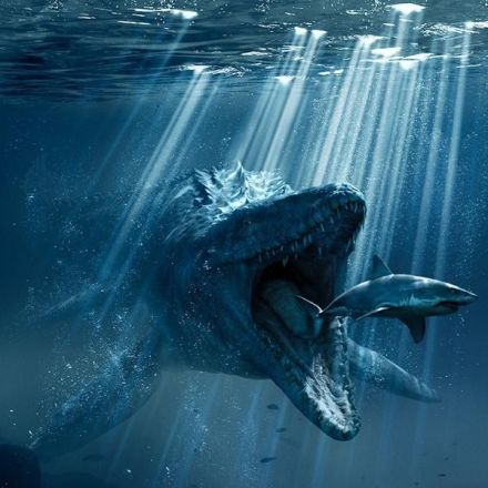 Another New 'Jurassic World' Poster Features the Mighty Mosa
