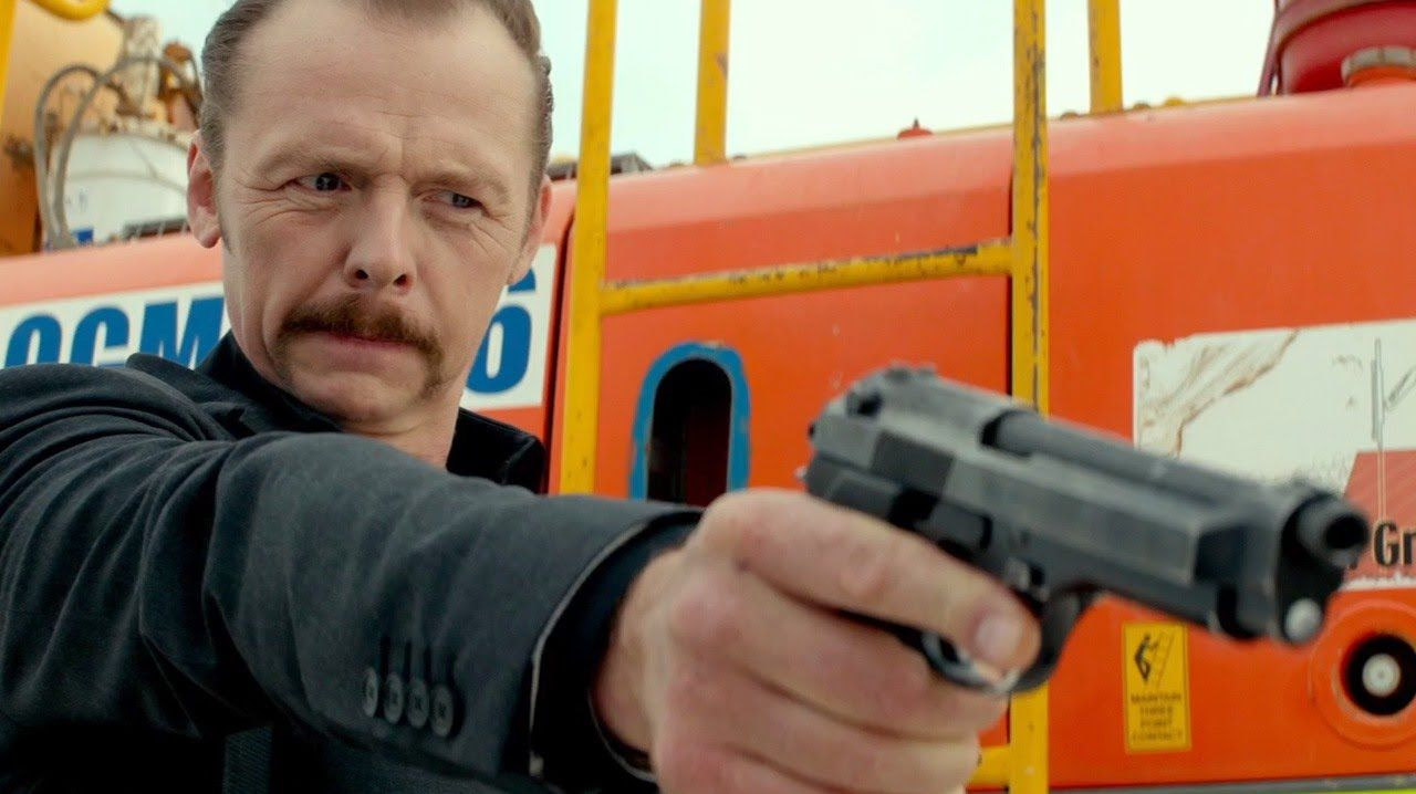 Simon Pegg as Charlie Wolfe