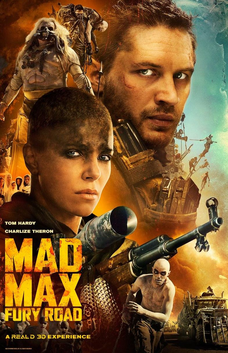Mad Max: Fury Road All Cast Poster