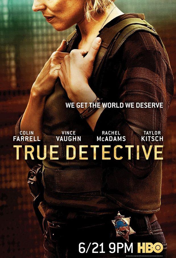 Rachel McAdams True Detective Poster