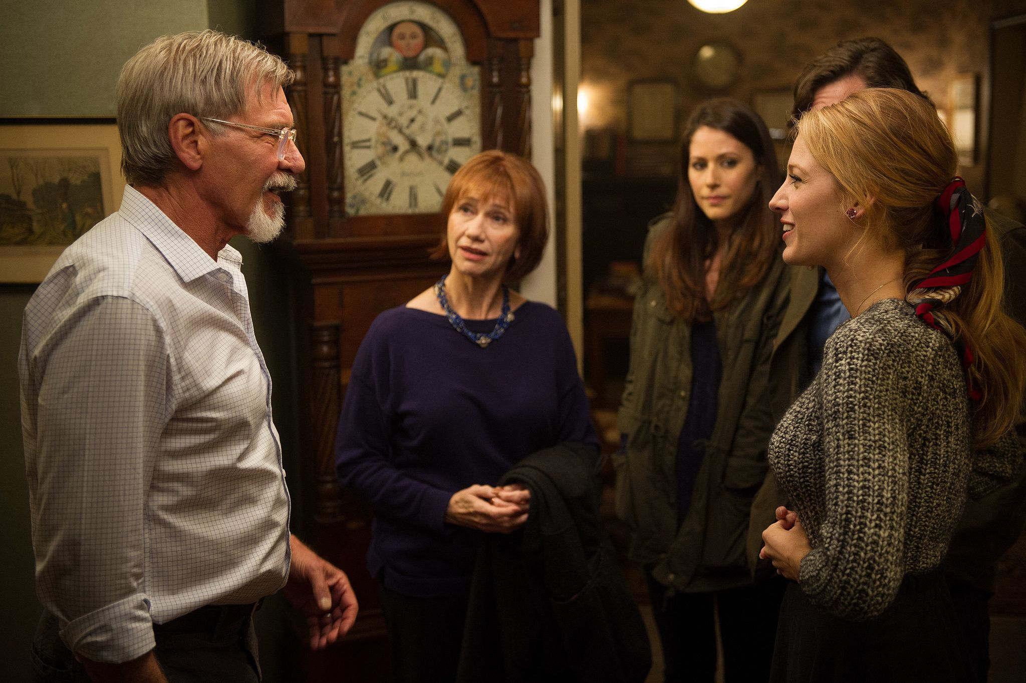 Blake Lively and Harrison Ford in 'The Age of Adaline'