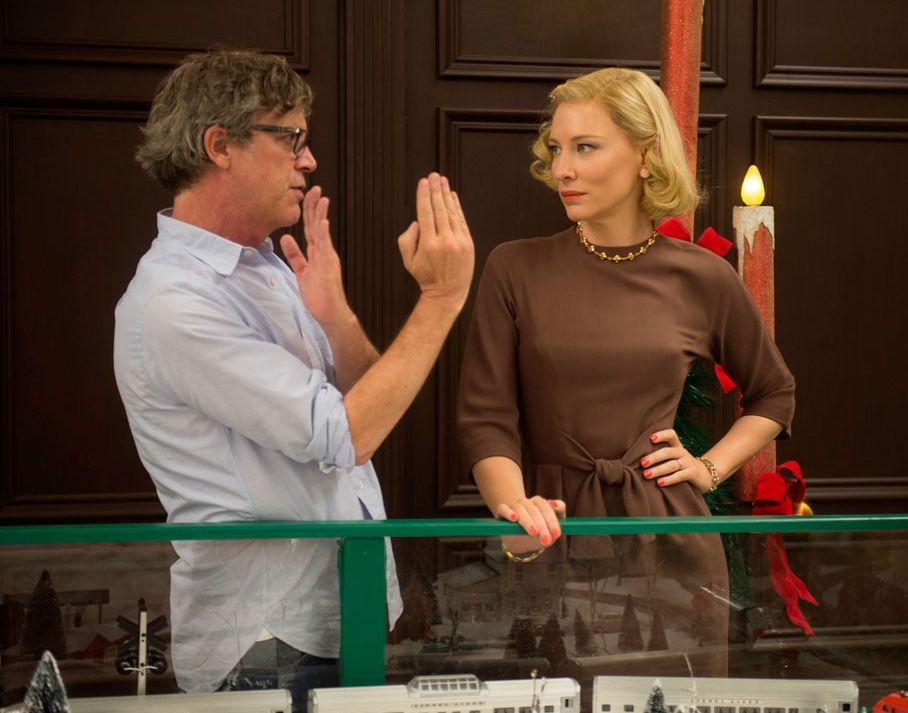 Todd Haynes directs Cate Blanchett in Carol