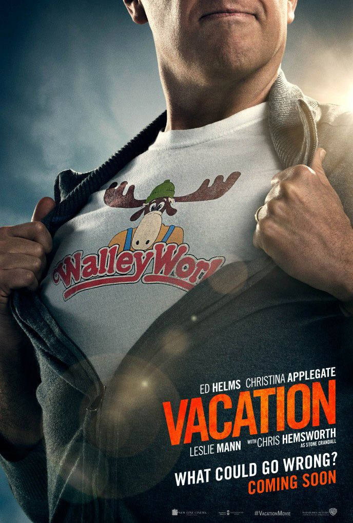 Ad Helms Vacation Walley World poster