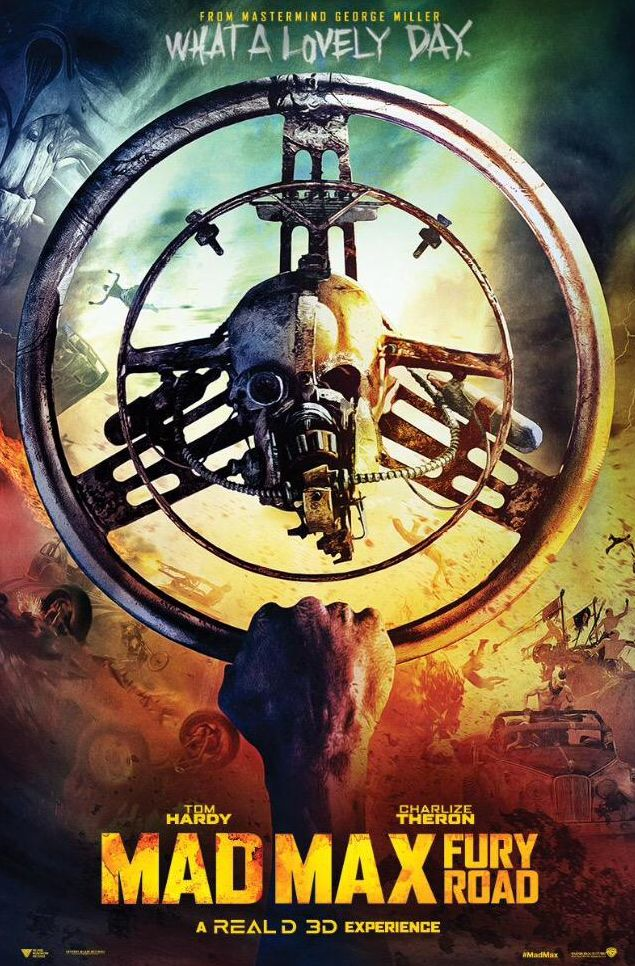 Another Lovely Day - Mad Max Fury Road Skull Poster