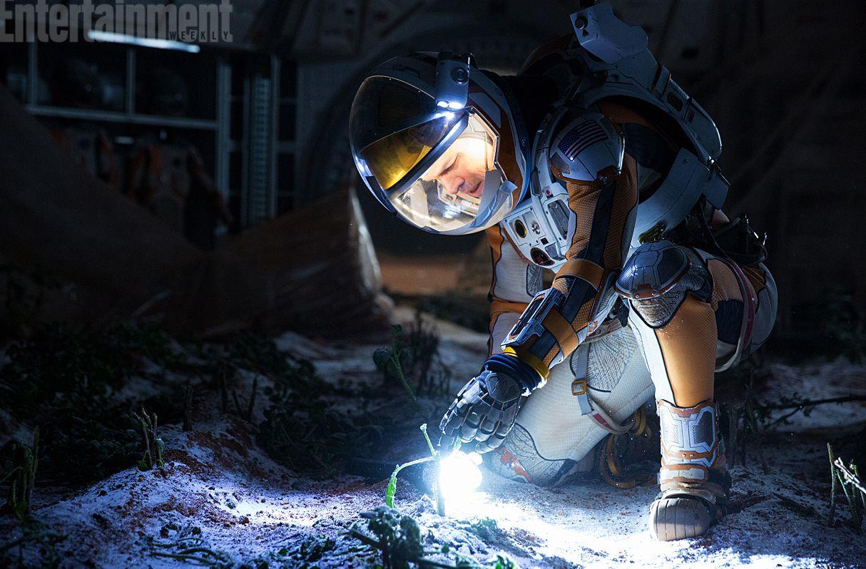 Inspecting the soil on Mars