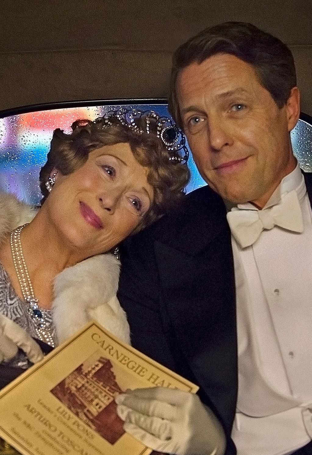 First Look at Meryl Streep and Hugh Grant in 'Florence Foste