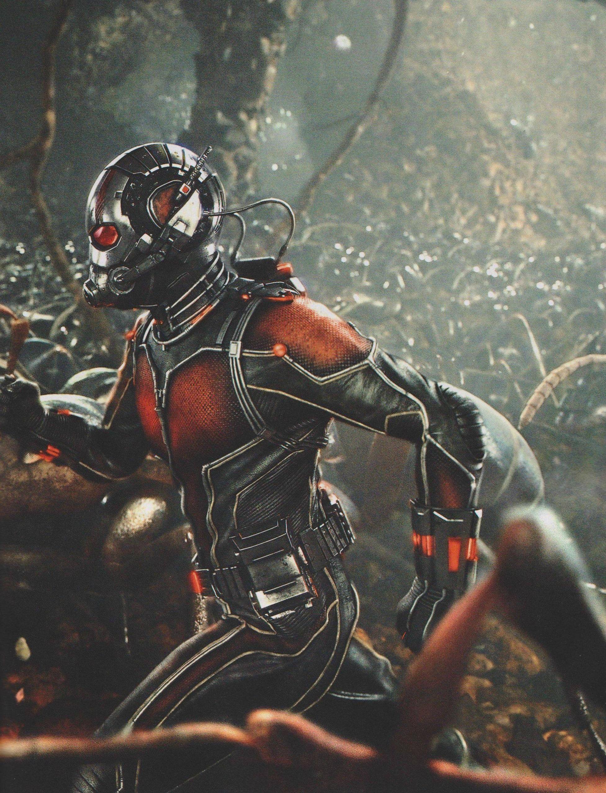 Still from Ant-Man in new Empire magazine