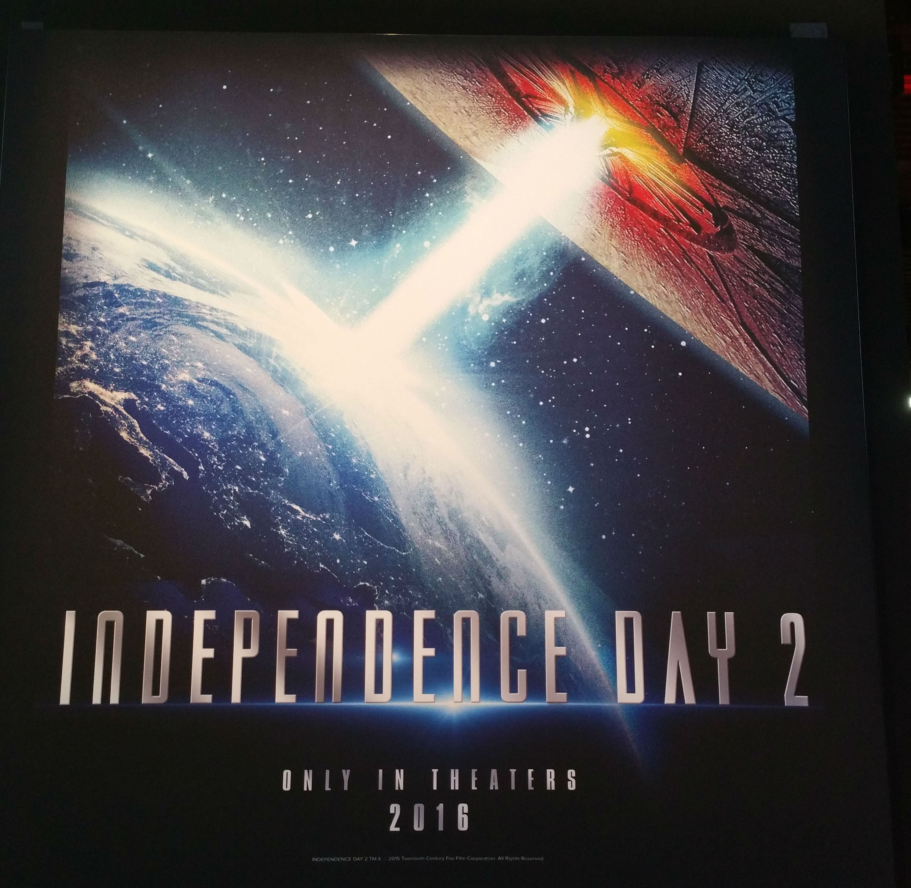 First 'Independence Day 2' Poster and Synopsis