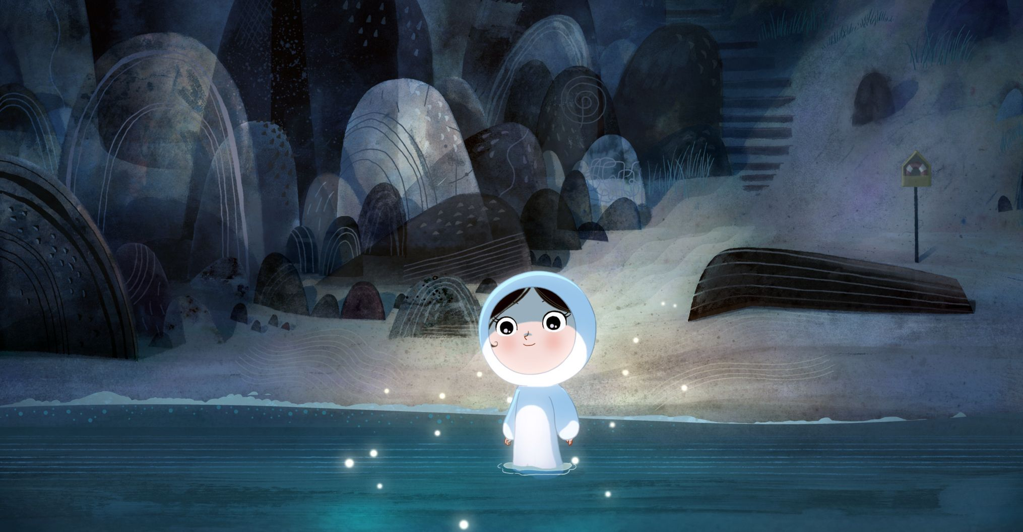 Water and light in Song of the Sea
