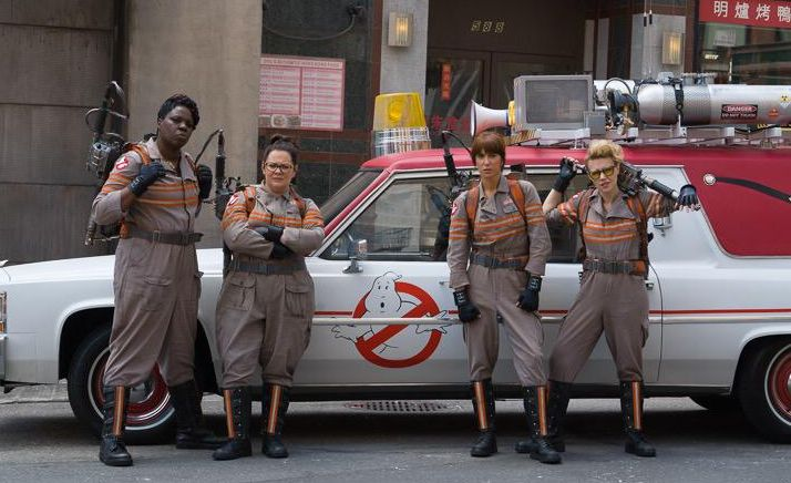 The Female Ghostbusters Team