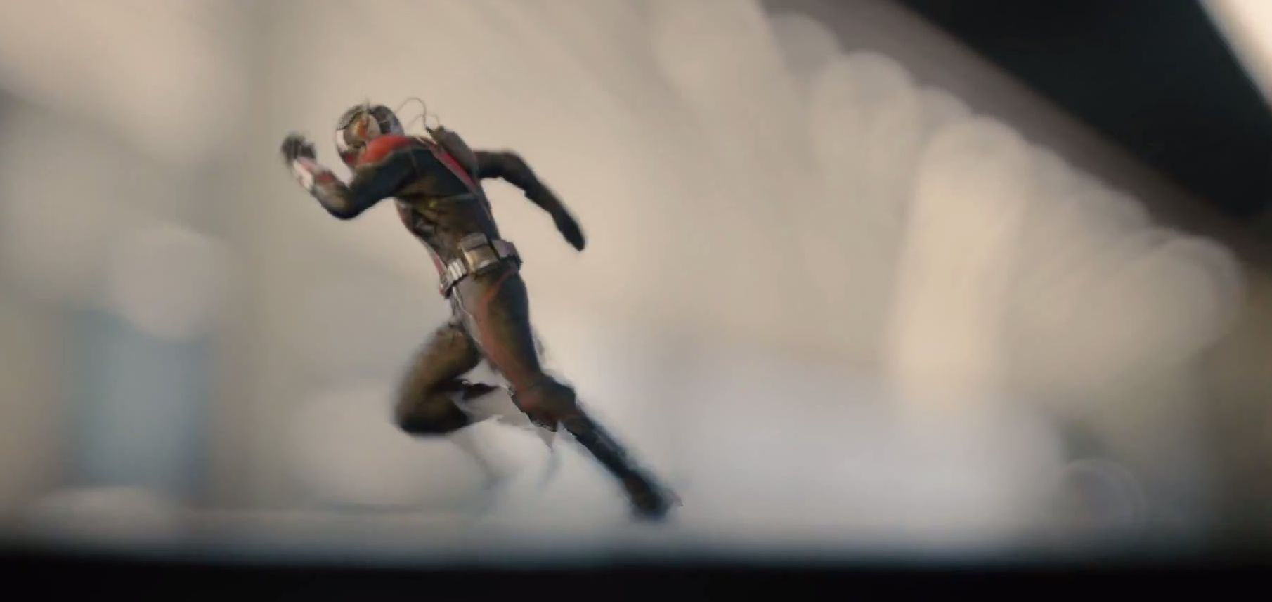 Ant-Man Runs Fast