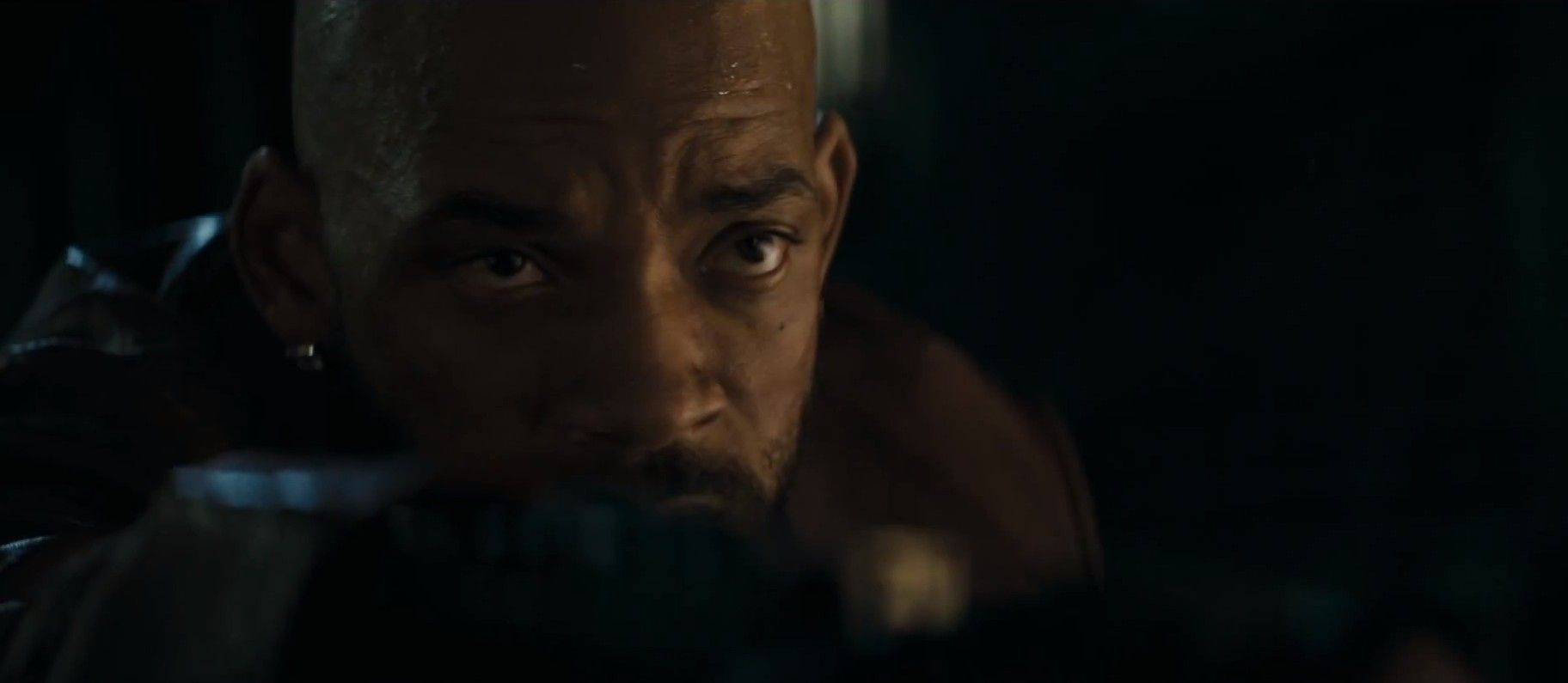Will Smith Close-Up in Suicide Squad