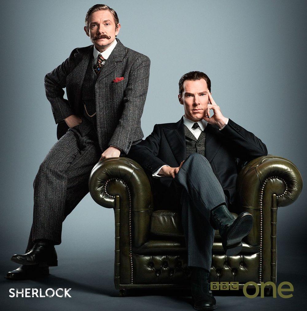BBC shares new image of Sherlock. Returning Christmas 2015