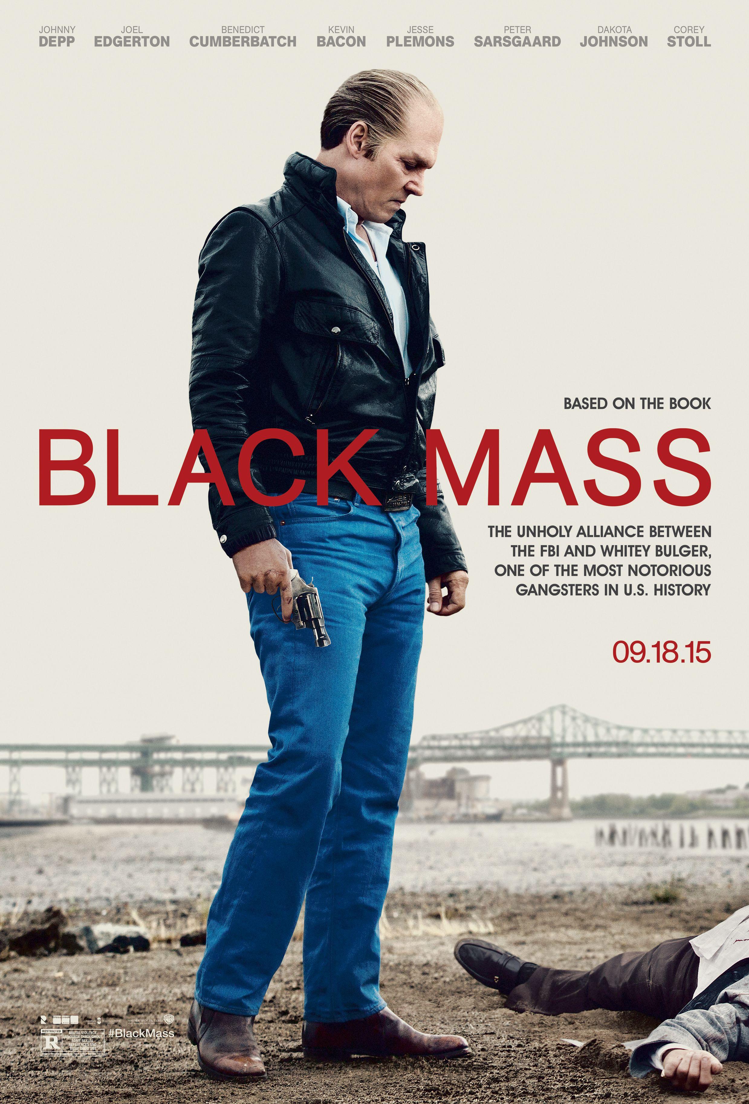 Johnny Depp Black Mass Poster