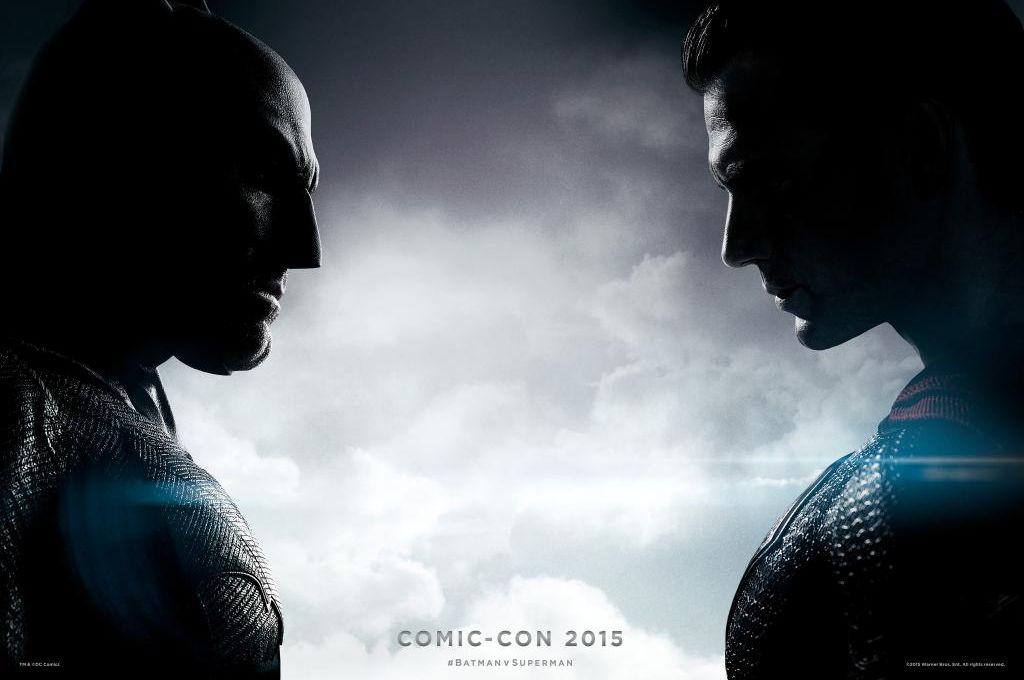 Batman v Superman Comic-Con Poster