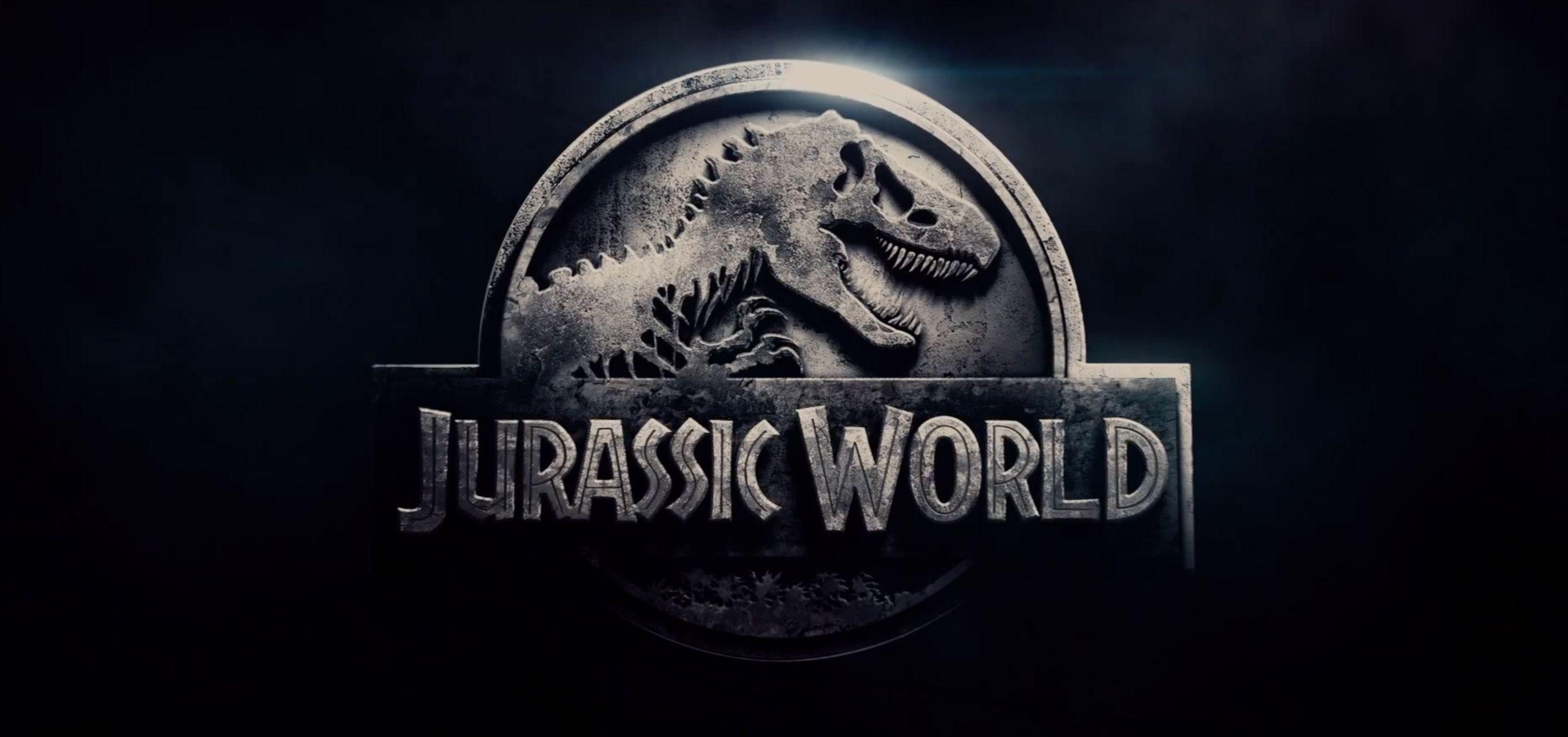 Jurassic World Logo Dark