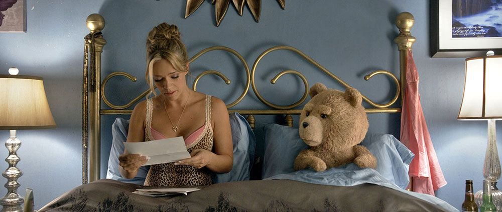 Ted In Bed With His Wife Tami