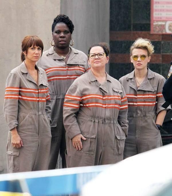 First Look at the New 'Ghostbusters' Team Together in Their