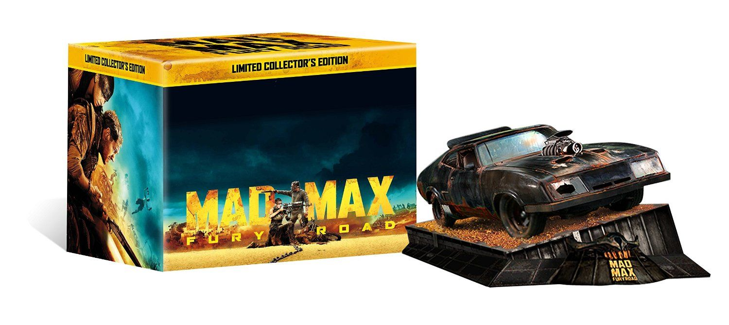 Blu-ray Steelbook Details for George Miller's 'Mad Max: Fu