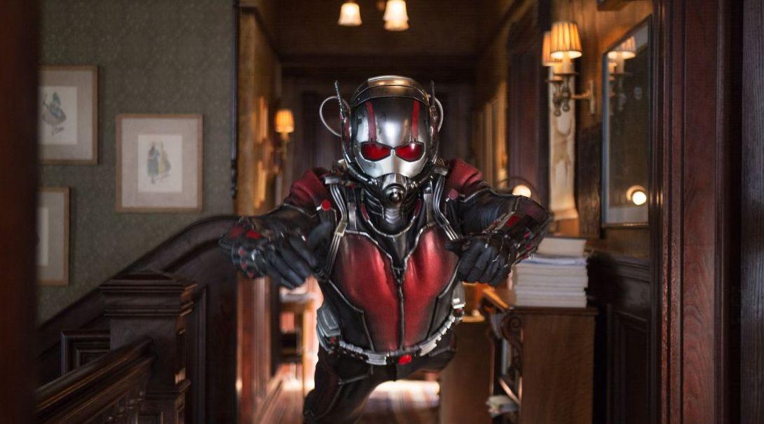 Ant-Man Flies Full Size
