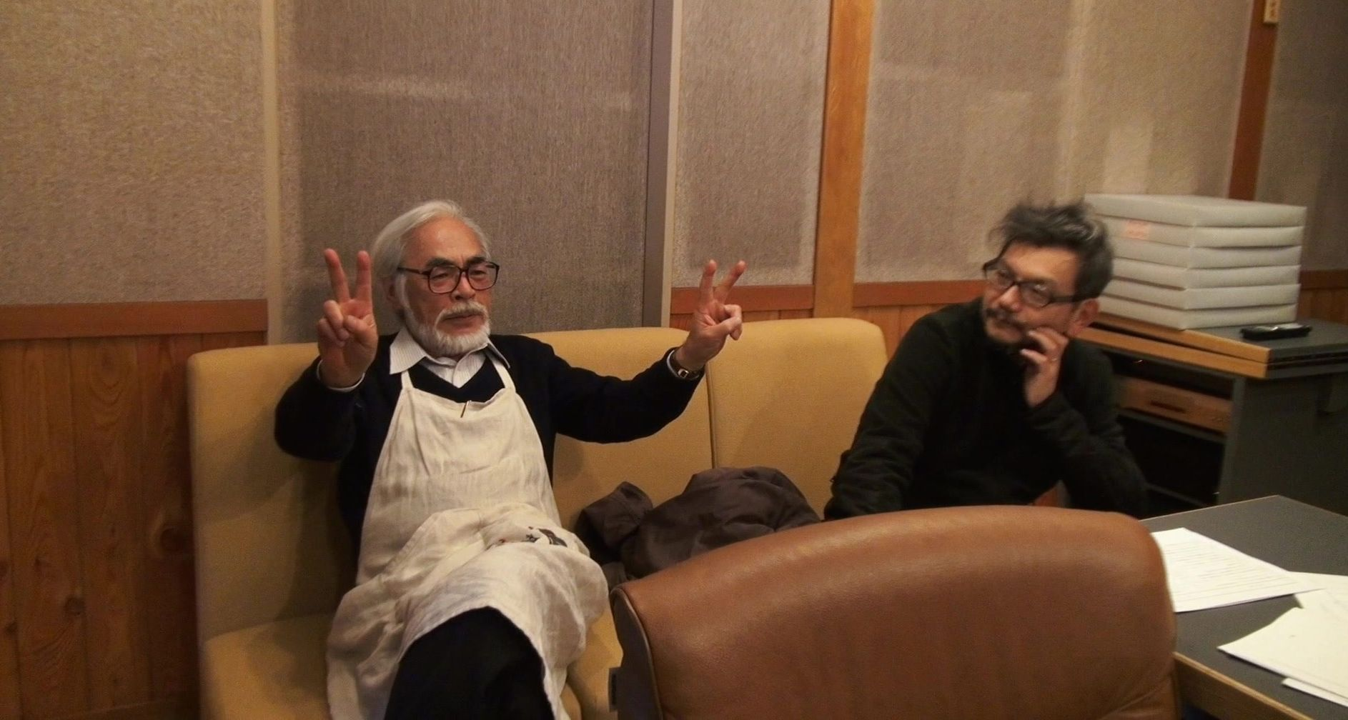 Hayao Miyazaki peace in documentary The Kingdom of Dreams an