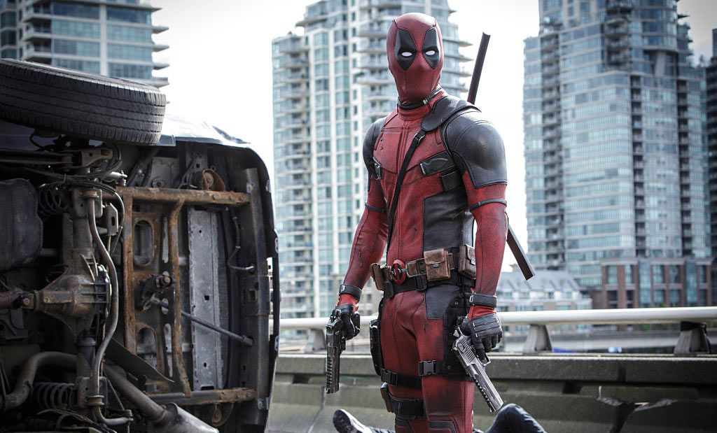 Deadpool Himself with Gun