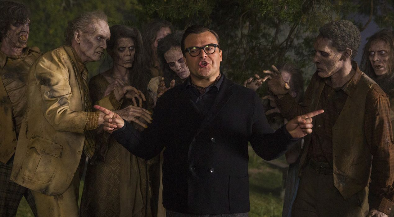 Jack Black with some Zombies