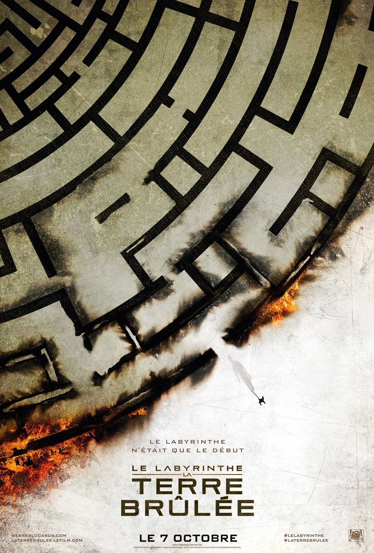 Cool French Poster for 'The Maze Runner: The Scorch Trials'