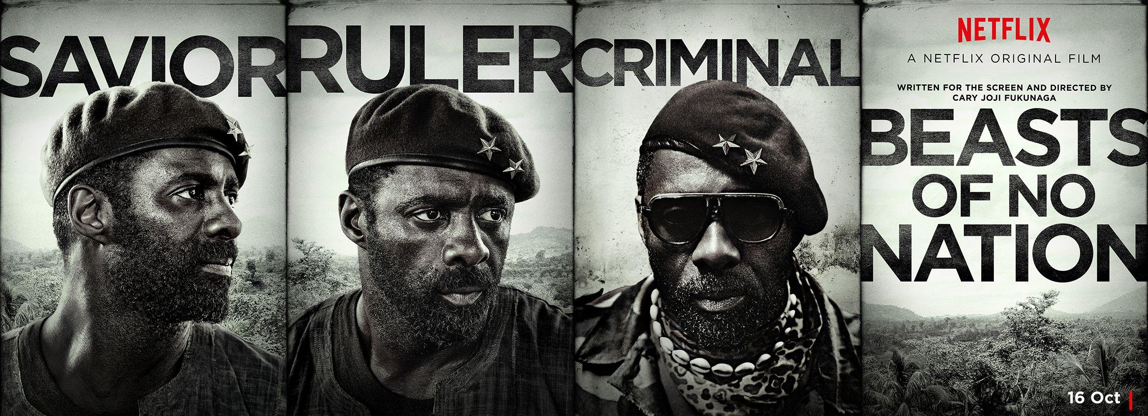 New Banner for Idris Elba's 'Beasts of No Nation' - Savior,