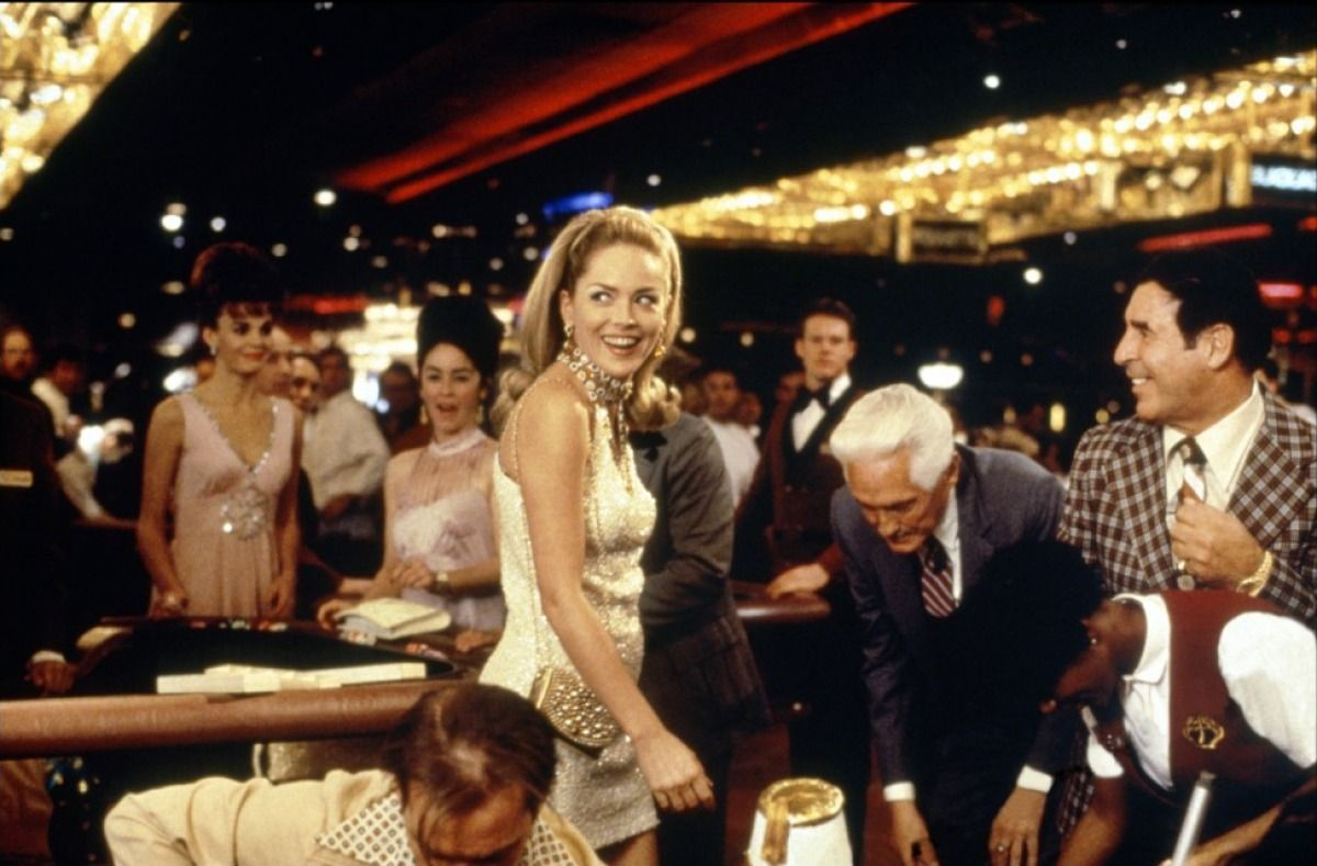Sharon Stone Wins Big at the Casino