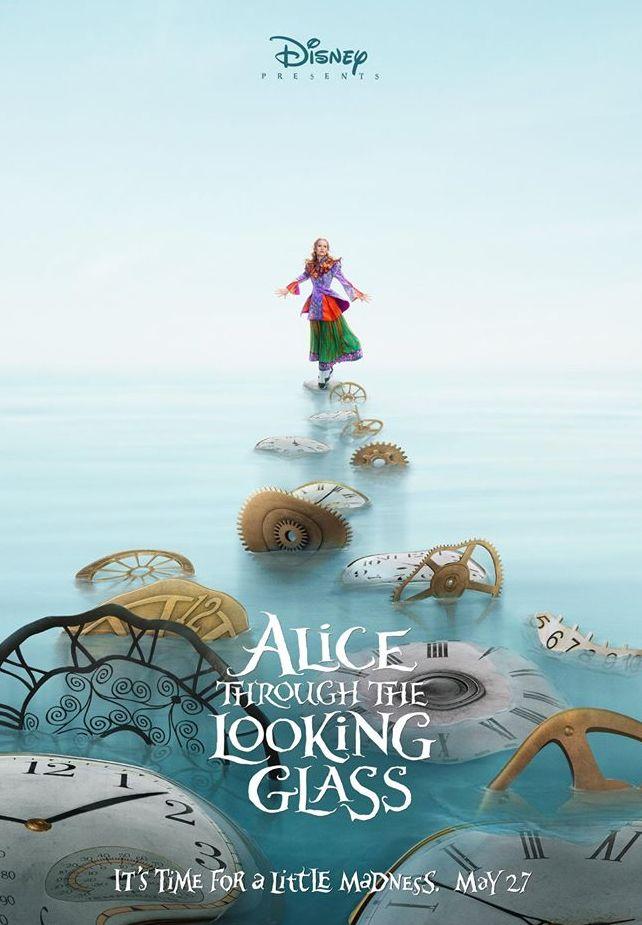 Mia Wasikowska, Alice Through the Looking Glass Poster