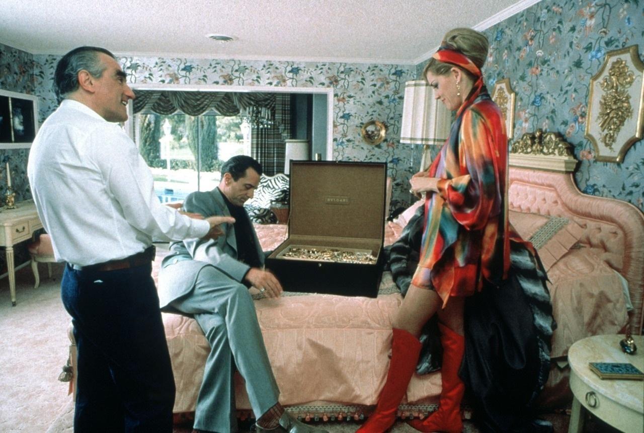 Scorsese, De Niro and Stone in the Bedroom