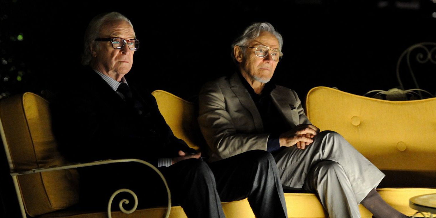 Michael Caineand Harvey Keitel Sit Around in 'Youth'