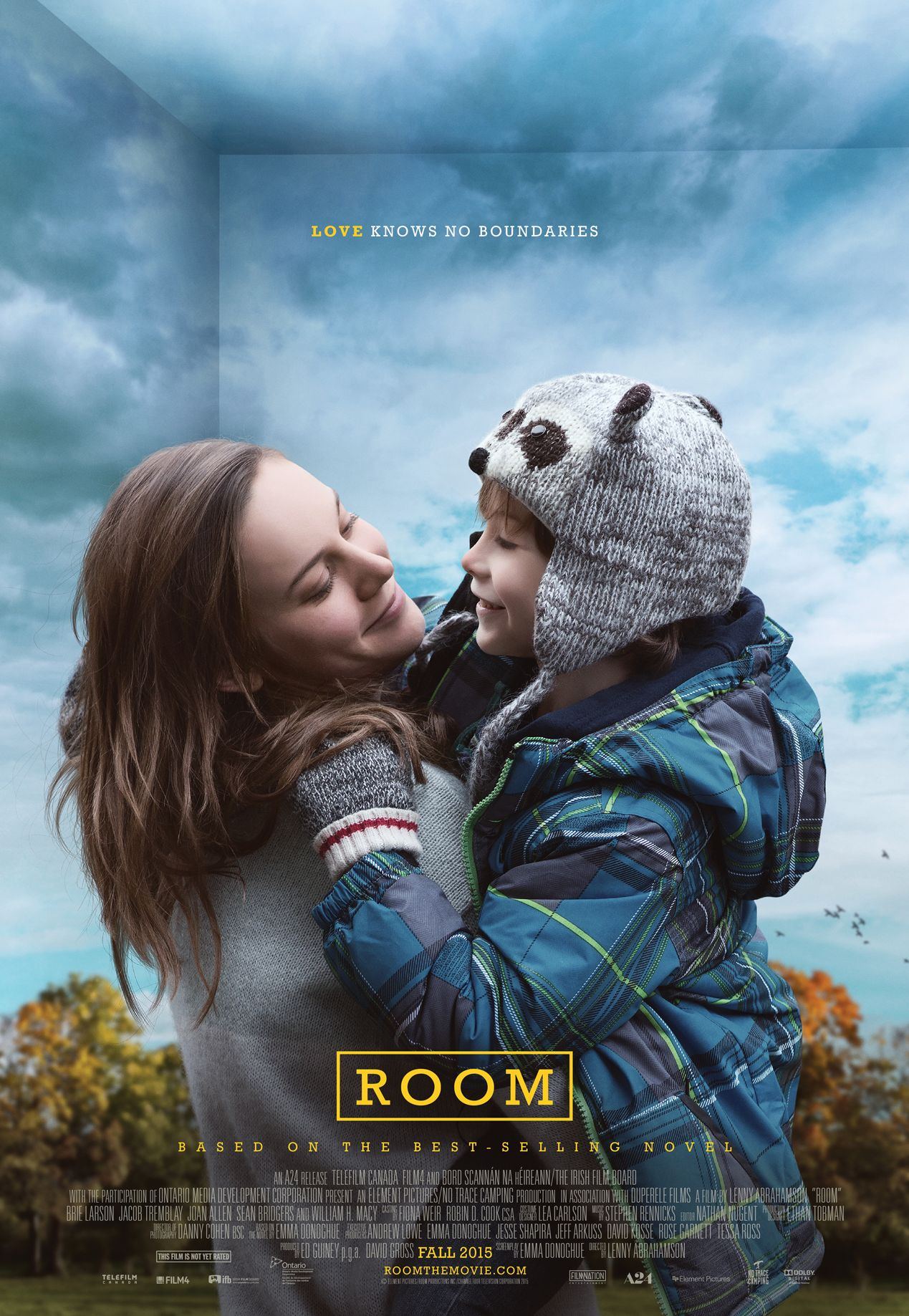 Brie Larson Room Poster