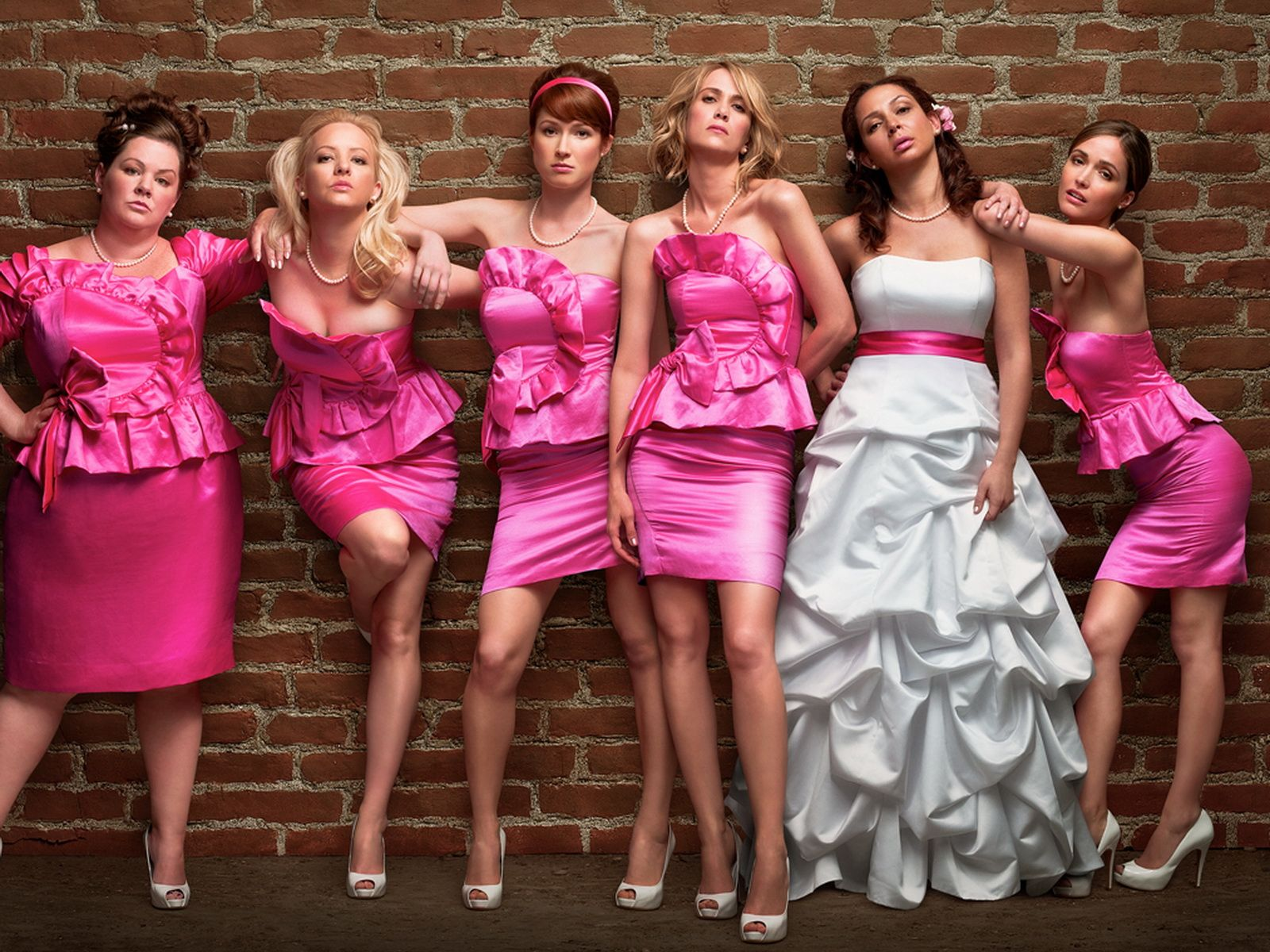 The Cast of Paul Feig's 'Bridesmaids'
