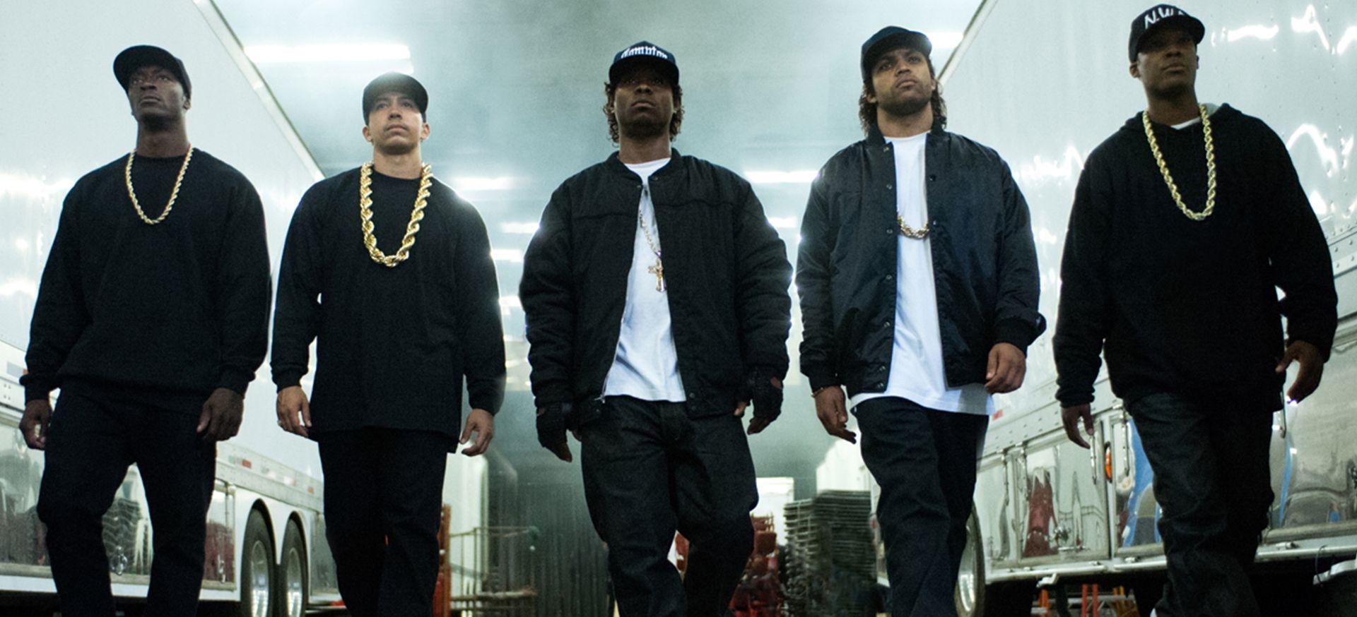 Rap Group N.W.A. Strut