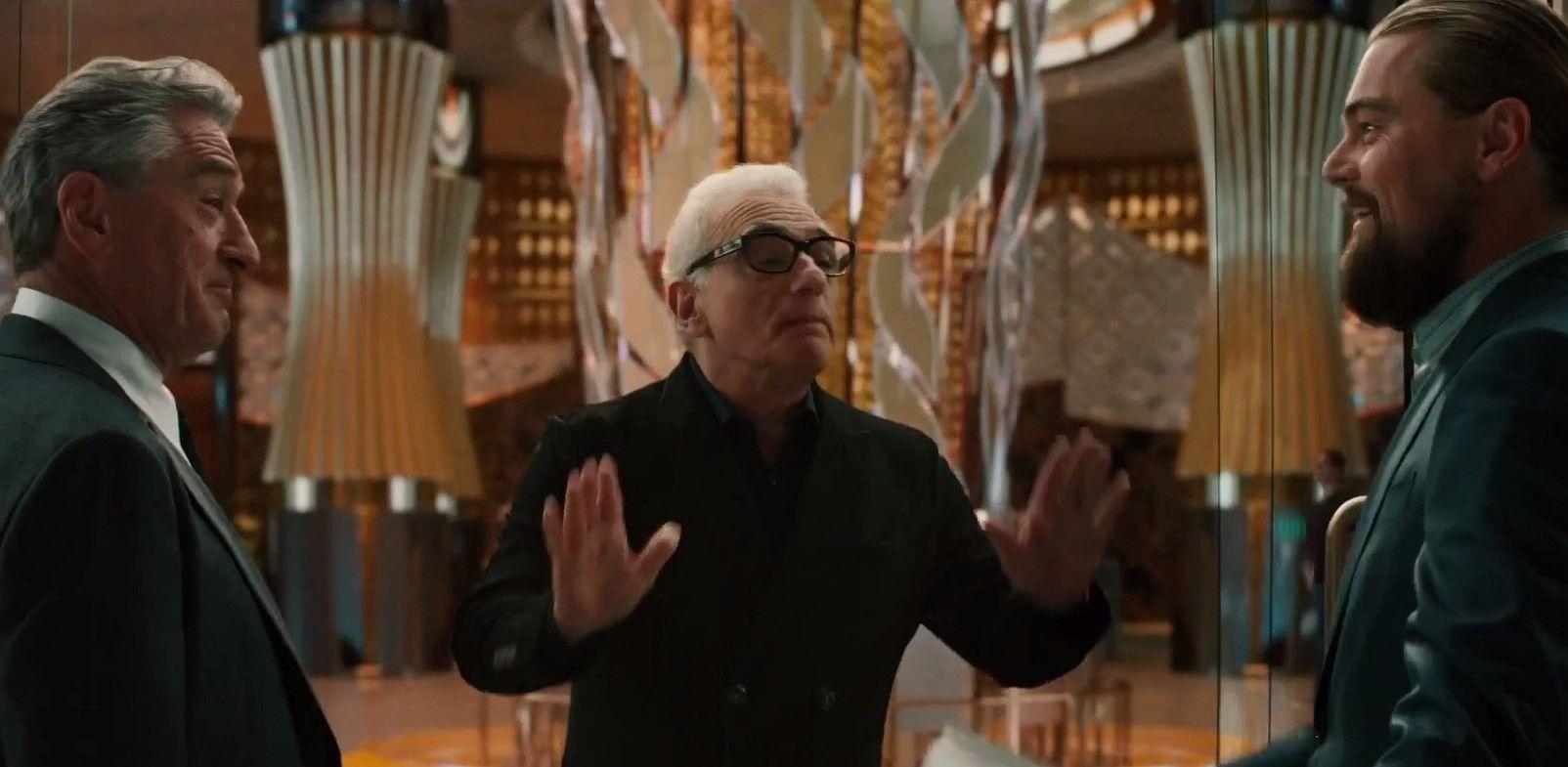 Scorsese, De Niro and DiCaprio