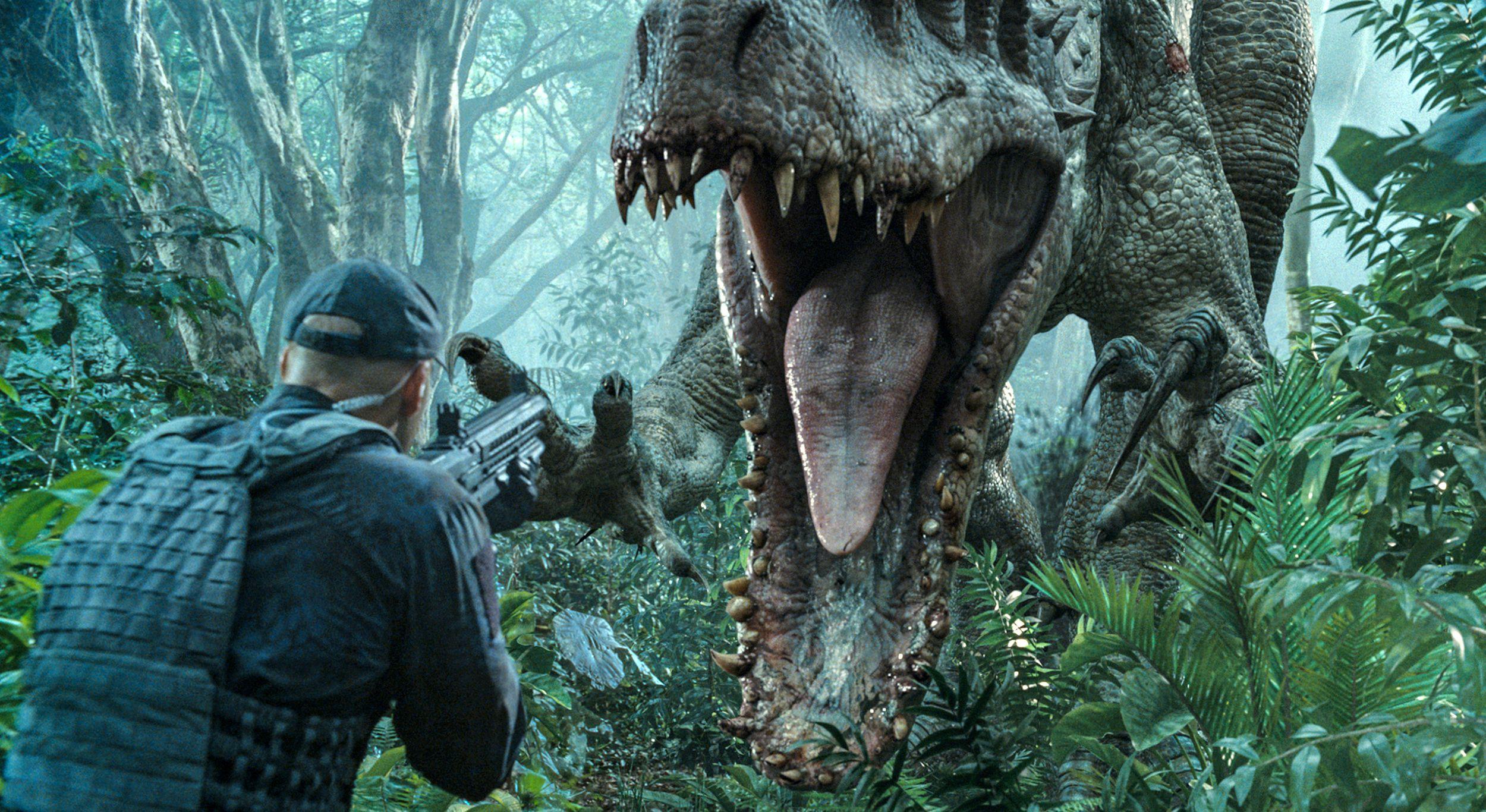 Dinosaur Bites in Jurassic World
