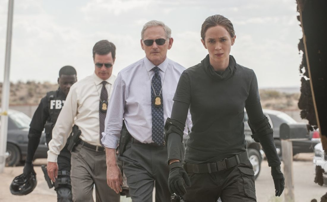 Emily Blunt as FBI agent in Sicario