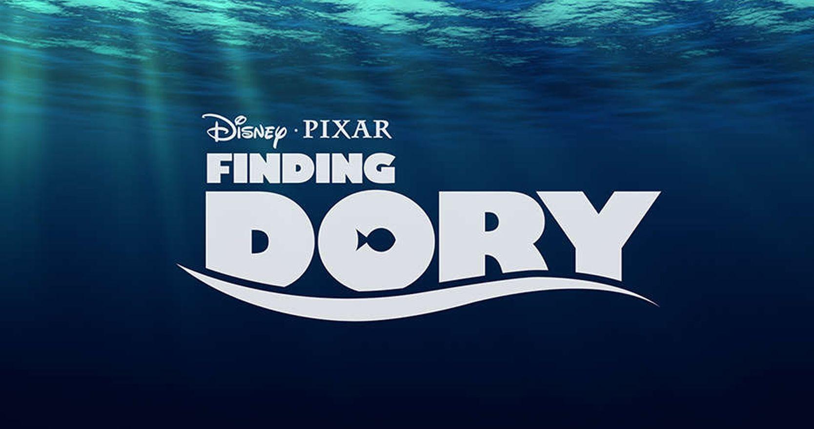 Finding Dory Dark Logo